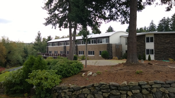 Archbishop Brunett Retreat Center at the Palisades Federal Way lodging rooms