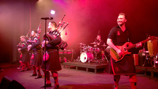 The Red Hot Chilli Pipers at Centerstage Theatre Knutzen Family Theatre in Federal Way