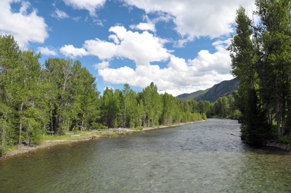 Methow River near Mazama