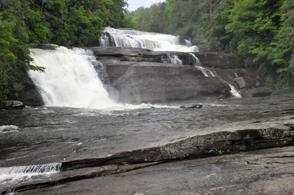 Triple Falls DuPont State Forest park close