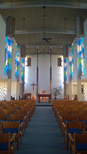 Chapel at Archbishop Brunett Retreat and Faith Formation Center at The Palisades in Federal Way