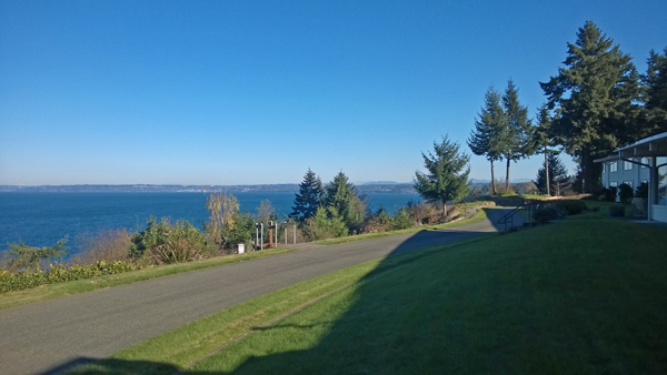 Puget Sound view at Archbishop Brunett Retreat and Faith Formation Center at The Palisades in Federal Way