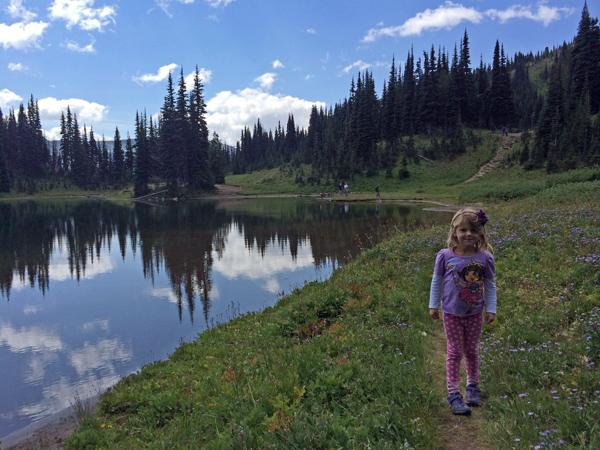 Shadow Lake in Mt Rainier National Park