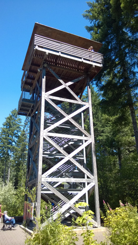 Tillamook Forest Center Tillamook State Forest fire lookout tower