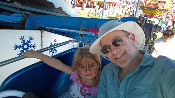 Washington State Fair in Puyallup Matterhorn ride