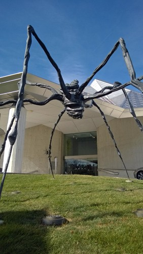 """Spider"" by Louise Bourgeois at Kemper Museum of Contemporary Art in Kansas City"