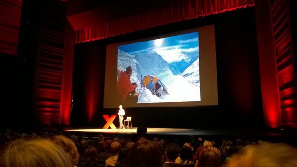 TEDxRainier Ed Viesturs at McCaw Hall Seattle