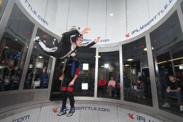 iFly Seattle Indoor Skydiving by Southcenter Mall in Tukwila