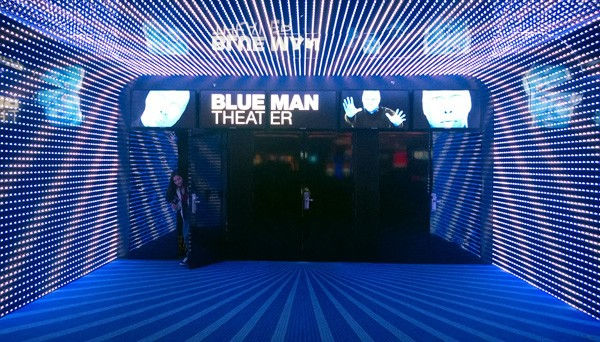 Blue Man Theater for Blue Man Group in Monte Carlo of Las Vegas