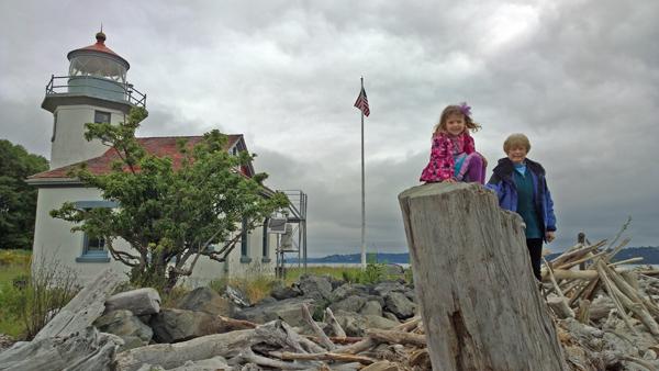 Point Robinson Lighthouse on Maury and Vashon Island