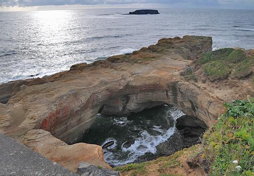Oregon coast newport lighthouses and parks for Devils lake oregon fishing