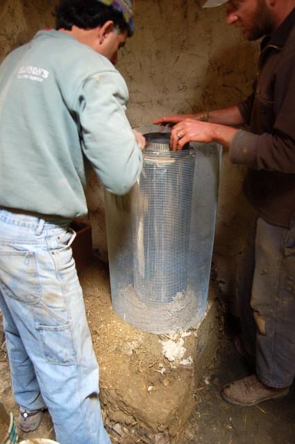 Rocket Stove Insulation : Rocket stove design construction workshop