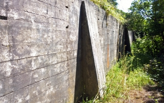 Fort Casey World War II Small Arms Range Rifle Butts Naas Preserve Coupeville Whidbey Island
