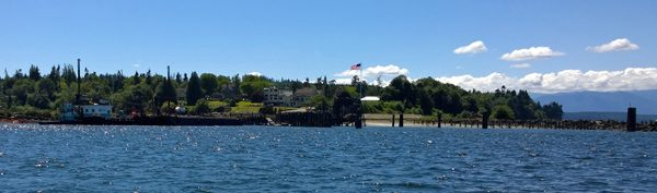 Port Gamble view from water