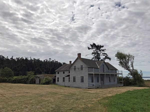 Ferry House Ebey's Landing National Historical Reserve National Park Service Coupeville northeast exterior