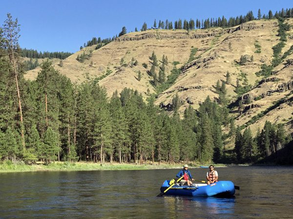 Grande Ronde River rafting Oregon canyon
