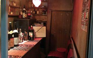 Shinjuku Golden-gai Tokyo Japan tiny old drinking establishment bar entire size