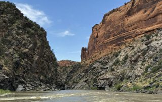 Westwater Canyon on Colorado River Utah